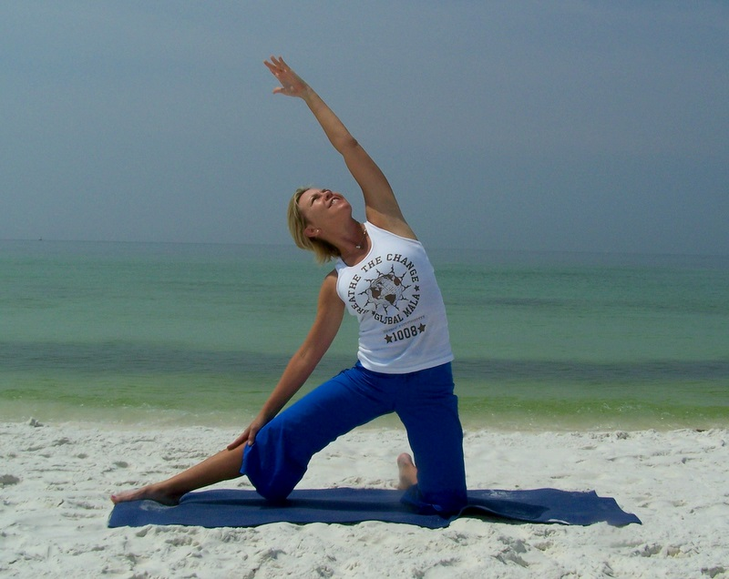 Yoga Pose Asana Pictues Florida Revolved Triangle Pose