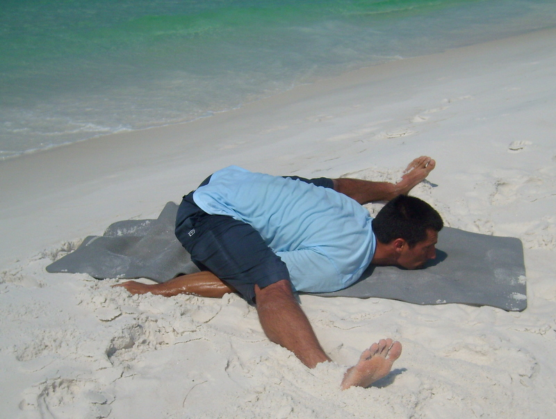 Destin Yoga Pictures At The Beach
