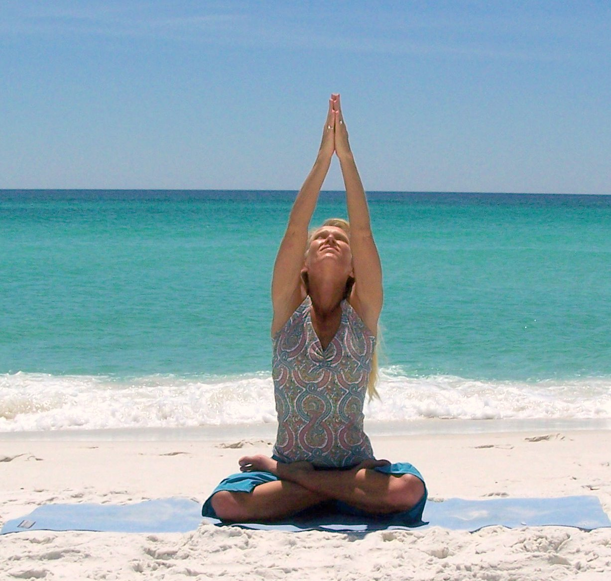 Yoga Beach Yoga Class Destin Florida